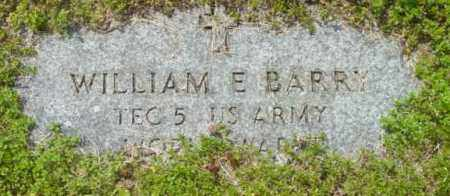 BARRY (WWII), WILLIAM E - Berkshire County, Massachusetts | WILLIAM E BARRY (WWII) - Massachusetts Gravestone Photos
