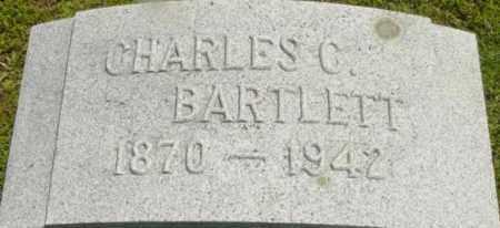 BARTLETT, CHARLES C - Berkshire County, Massachusetts | CHARLES C BARTLETT - Massachusetts Gravestone Photos