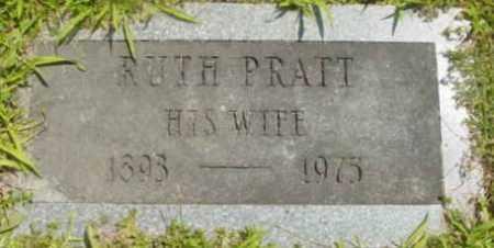 PRATT, RUTH - Berkshire County, Massachusetts | RUTH PRATT - Massachusetts Gravestone Photos