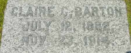 BARTON, CLAIRE C - Berkshire County, Massachusetts | CLAIRE C BARTON - Massachusetts Gravestone Photos
