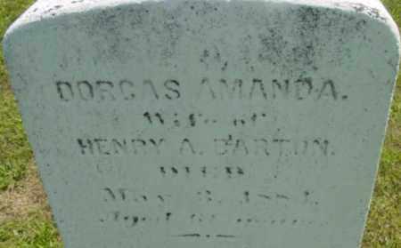 BARTON, DORCAS AMANDA - Berkshire County, Massachusetts   DORCAS AMANDA BARTON - Massachusetts Gravestone Photos