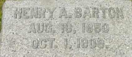 BARTON, HENRY A - Berkshire County, Massachusetts | HENRY A BARTON - Massachusetts Gravestone Photos