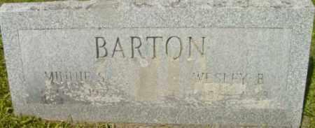 BARTON, MINNIE S - Berkshire County, Massachusetts | MINNIE S BARTON - Massachusetts Gravestone Photos