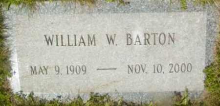 BARTON, WILLIAM W - Berkshire County, Massachusetts   WILLIAM W BARTON - Massachusetts Gravestone Photos