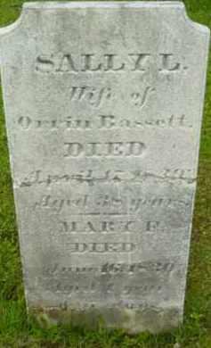 BASSETT, MARY - Berkshire County, Massachusetts | MARY BASSETT - Massachusetts Gravestone Photos