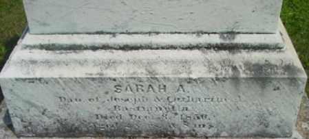 BASTIANELLA, SARAH A - Berkshire County, Massachusetts | SARAH A BASTIANELLA - Massachusetts Gravestone Photos