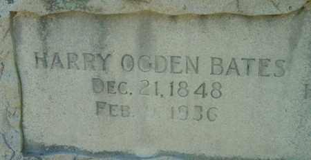 BATES, HARRY OGDEN - Berkshire County, Massachusetts   HARRY OGDEN BATES - Massachusetts Gravestone Photos
