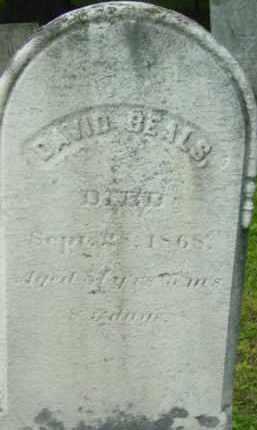 BEALS, DAVID - Berkshire County, Massachusetts | DAVID BEALS - Massachusetts Gravestone Photos