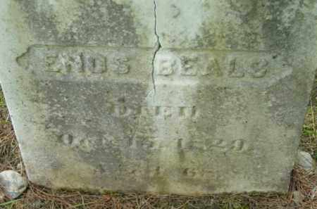 BEALS, ENOS - Berkshire County, Massachusetts | ENOS BEALS - Massachusetts Gravestone Photos