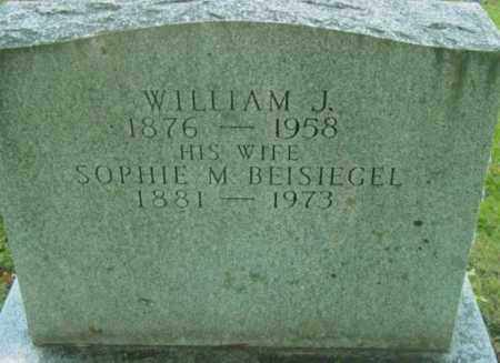 BEALS, WILLIAM J - Berkshire County, Massachusetts | WILLIAM J BEALS - Massachusetts Gravestone Photos