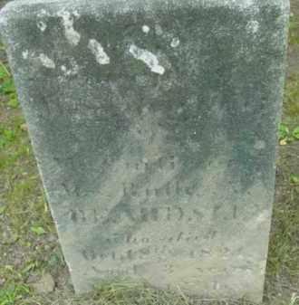 BEARDSLEY, MARY - Berkshire County, Massachusetts | MARY BEARDSLEY - Massachusetts Gravestone Photos