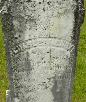 BEERS, CHARLES HENRY - Berkshire County, Massachusetts | CHARLES HENRY BEERS - Massachusetts Gravestone Photos