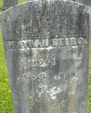 BEERS, NATHAN - Berkshire County, Massachusetts   NATHAN BEERS - Massachusetts Gravestone Photos