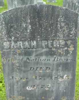PERRY BEERS, SARAH - Berkshire County, Massachusetts | SARAH PERRY BEERS - Massachusetts Gravestone Photos
