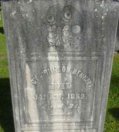 BENNETT, LUCY - Berkshire County, Massachusetts | LUCY BENNETT - Massachusetts Gravestone Photos
