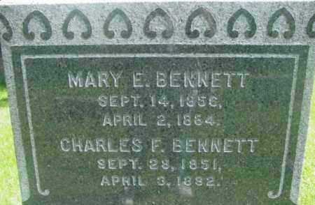 BENNETT, MARY E - Berkshire County, Massachusetts | MARY E BENNETT - Massachusetts Gravestone Photos