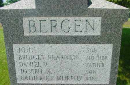 BERGEN, DANIEL V - Berkshire County, Massachusetts | DANIEL V BERGEN - Massachusetts Gravestone Photos
