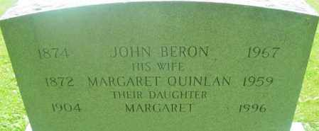 QUINLAN, MARGARET - Berkshire County, Massachusetts | MARGARET QUINLAN - Massachusetts Gravestone Photos