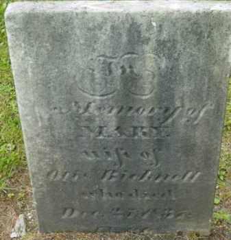 BICKNELL, MARY - Berkshire County, Massachusetts | MARY BICKNELL - Massachusetts Gravestone Photos