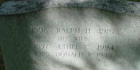 BLAKE, RALPH H - Berkshire County, Massachusetts | RALPH H BLAKE - Massachusetts Gravestone Photos