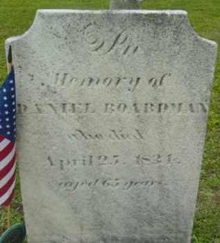BOARDMAN, DANIEL - Berkshire County, Massachusetts | DANIEL BOARDMAN - Massachusetts Gravestone Photos