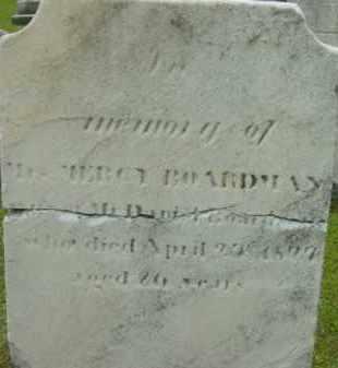 BOARDMAN, MERCY - Berkshire County, Massachusetts | MERCY BOARDMAN - Massachusetts Gravestone Photos