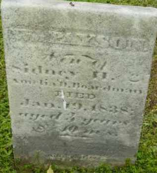 BOARDMAN, WILLIAM PAYSON - Berkshire County, Massachusetts | WILLIAM PAYSON BOARDMAN - Massachusetts Gravestone Photos