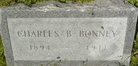 BONNEY, CHARLES B - Berkshire County, Massachusetts | CHARLES B BONNEY - Massachusetts Gravestone Photos