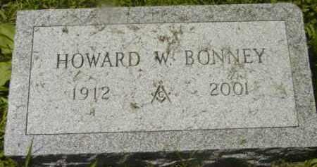 BONNEY, HOWARD W - Berkshire County, Massachusetts | HOWARD W BONNEY - Massachusetts Gravestone Photos