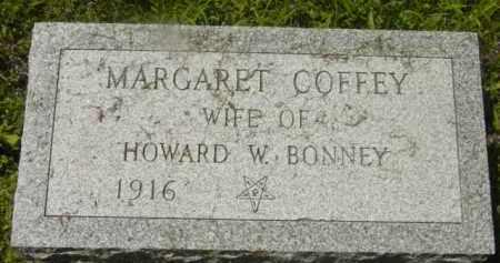 BONNEY, MARGARET - Berkshire County, Massachusetts | MARGARET BONNEY - Massachusetts Gravestone Photos