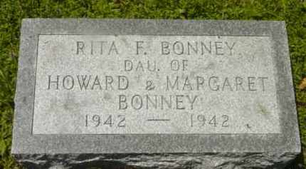 BONNEY, RITA F - Berkshire County, Massachusetts   RITA F BONNEY - Massachusetts Gravestone Photos