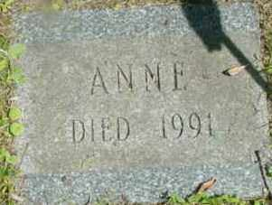 BOOTH, ANNE - Berkshire County, Massachusetts | ANNE BOOTH - Massachusetts Gravestone Photos