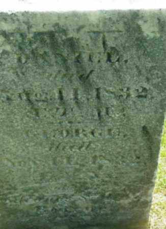 BOURNE, GEORGE - Berkshire County, Massachusetts | GEORGE BOURNE - Massachusetts Gravestone Photos