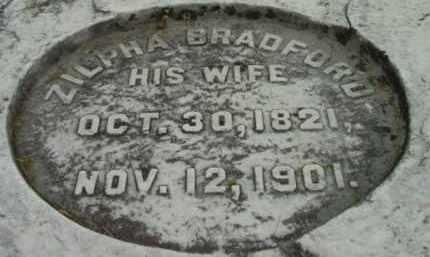 SHAW, ZILPHA - Berkshire County, Massachusetts | ZILPHA SHAW - Massachusetts Gravestone Photos