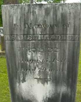 BRADLEY, ASAHEL - Berkshire County, Massachusetts | ASAHEL BRADLEY - Massachusetts Gravestone Photos