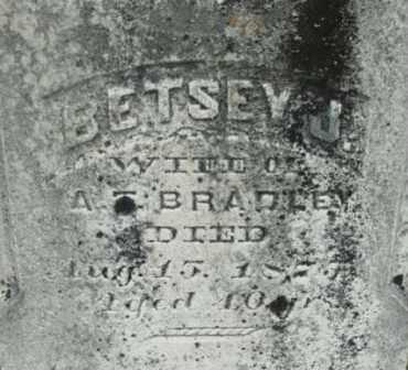BRADLEY, BETSEY J - Berkshire County, Massachusetts   BETSEY J BRADLEY - Massachusetts Gravestone Photos