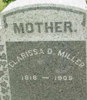 MILLER BRADLEY, CLARISSA D - Berkshire County, Massachusetts | CLARISSA D MILLER BRADLEY - Massachusetts Gravestone Photos