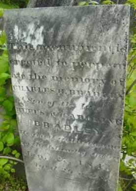 BRADLEY, CHARLES H - Berkshire County, Massachusetts | CHARLES H BRADLEY - Massachusetts Gravestone Photos