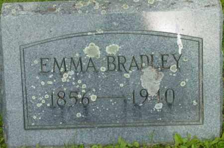 BRADLEY, EMMA - Berkshire County, Massachusetts   EMMA BRADLEY - Massachusetts Gravestone Photos