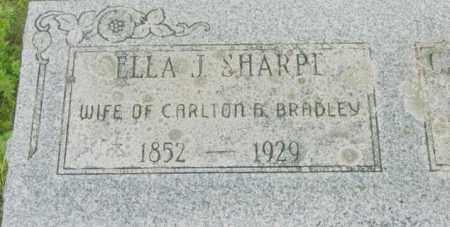BRADLEY, ELLA J - Berkshire County, Massachusetts | ELLA J BRADLEY - Massachusetts Gravestone Photos