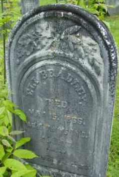 BRADLEY, ELI - Berkshire County, Massachusetts   ELI BRADLEY - Massachusetts Gravestone Photos