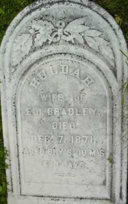 BRADLEY, HULDAH - Berkshire County, Massachusetts   HULDAH BRADLEY - Massachusetts Gravestone Photos