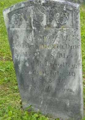 BRADLEY, HULDAH MARIA - Berkshire County, Massachusetts | HULDAH MARIA BRADLEY - Massachusetts Gravestone Photos