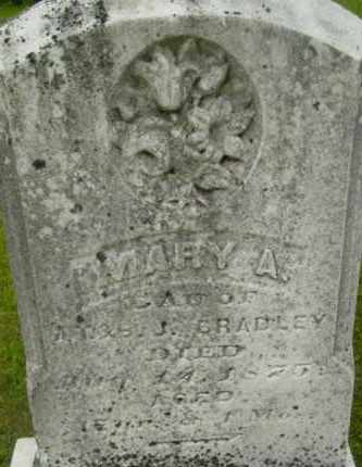 BRADLEY, MARY A - Berkshire County, Massachusetts | MARY A BRADLEY - Massachusetts Gravestone Photos