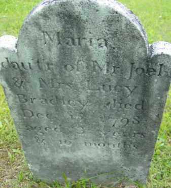 BRADLEY, MARIA - Berkshire County, Massachusetts   MARIA BRADLEY - Massachusetts Gravestone Photos