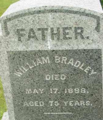 BRADLEY, WILLIAM - Berkshire County, Massachusetts | WILLIAM BRADLEY - Massachusetts Gravestone Photos