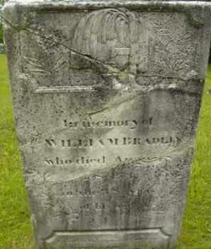 BRADLEY, WILLIAM - Berkshire County, Massachusetts   WILLIAM BRADLEY - Massachusetts Gravestone Photos