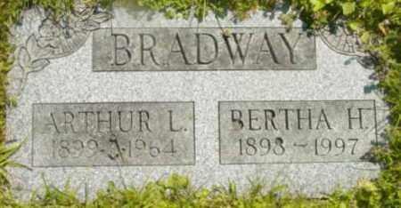 BRADWAY, BERTHA H - Berkshire County, Massachusetts   BERTHA H BRADWAY - Massachusetts Gravestone Photos