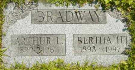 BRADWAY, ARTHUR L - Berkshire County, Massachusetts | ARTHUR L BRADWAY - Massachusetts Gravestone Photos