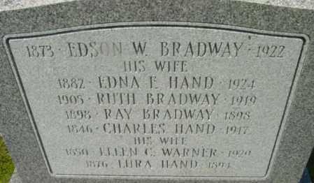 BRADWAY, RAY - Berkshire County, Massachusetts | RAY BRADWAY - Massachusetts Gravestone Photos